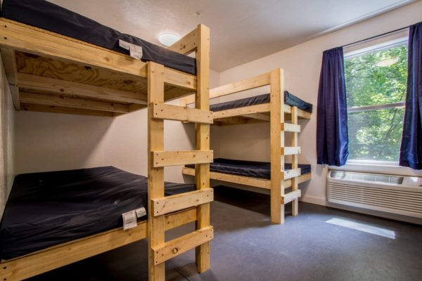 bunkbeds in the bunkhouses