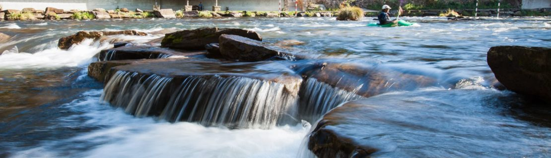 Rapids on the Nantahala River Rafting: Guided Duck Trip