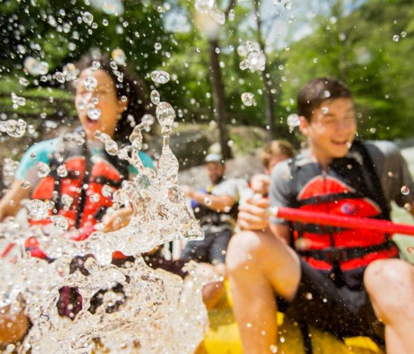 Group rafting on the Nantahala River Rafting: Fully-Guided in North Carolina trip