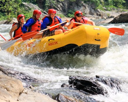 Rafting on the Nolichucky Gorge Rafting: Full-Day (with Lunch) trip