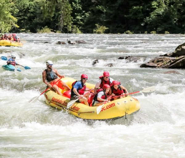 Rafters on the Ocoee River Rafting: Full-Day Combo (with Lunch) trip