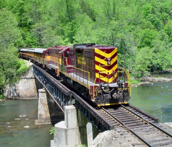 Train on the Rapid Transit: Rafting & Train Excursion Package trip