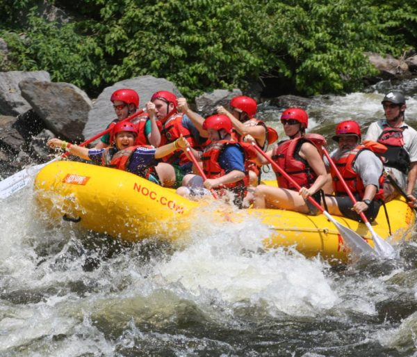 Rafters on the Smoky Mountain Adventure trip