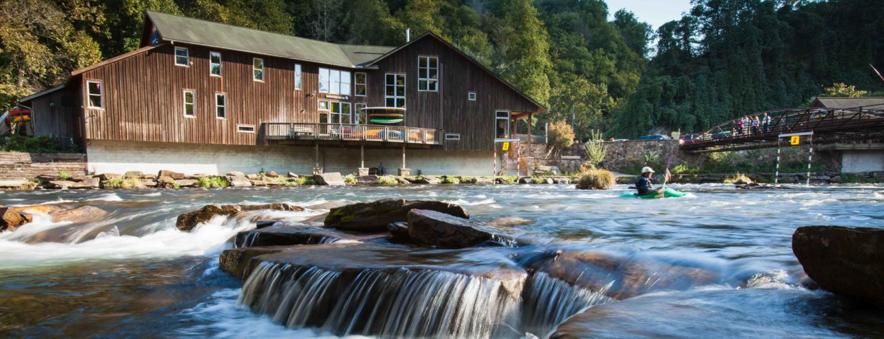 Rapids on the Nantahala River Rafting: Guided Duck Trip