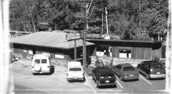 Family on yellow raft whitewater rafting