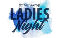 not your average ladies night