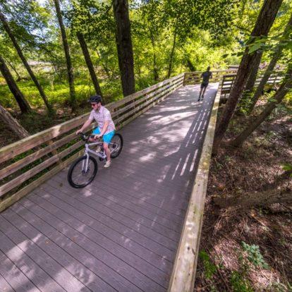 Biking in Roswell, Georgia