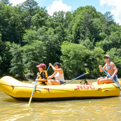 Rafting on the Chattahooche in Roswell, GA
