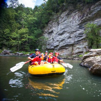 Rafting on the Chattooga River