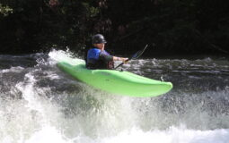 Kayaker on the Cheoah River