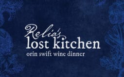 Relia's Lost Kitchen Orin Swift