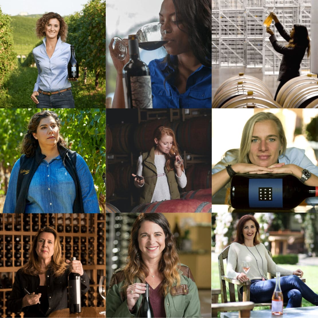 Women Behind the Wine