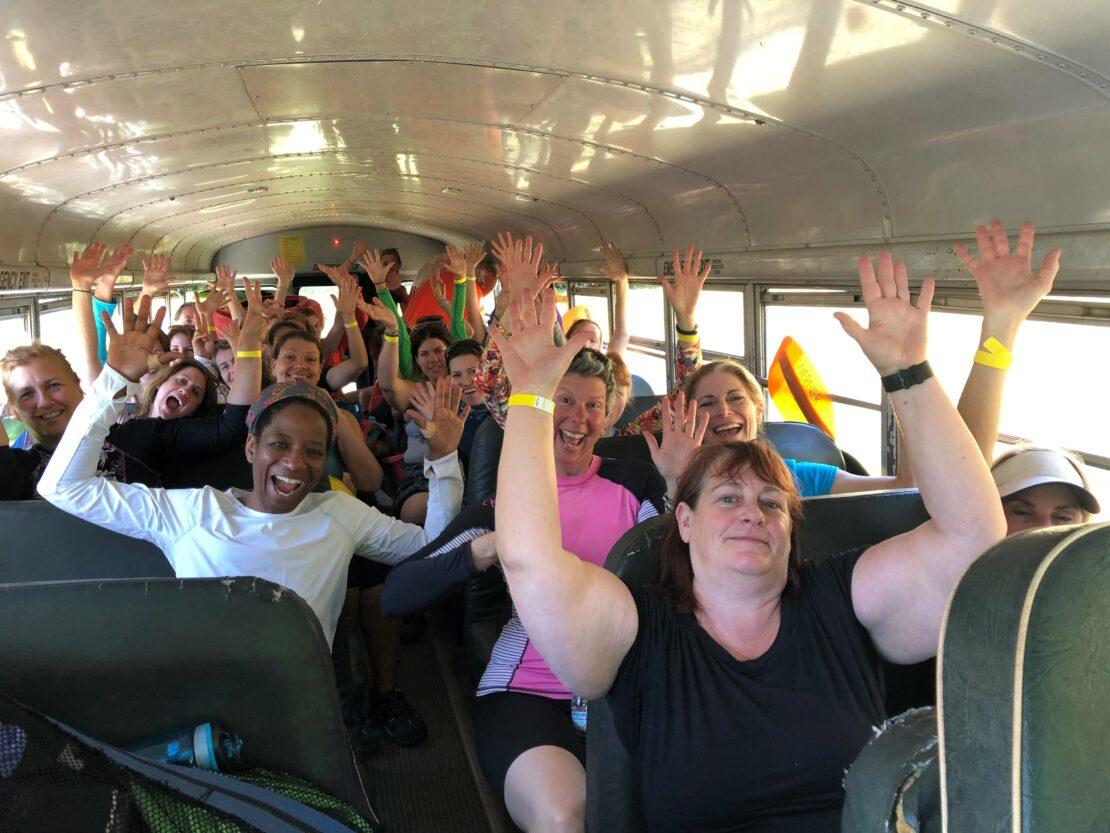 Women's Paddlefest Bus