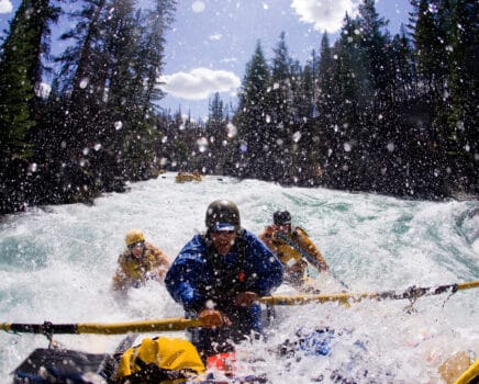 Whitewater Rafting on the Chilko