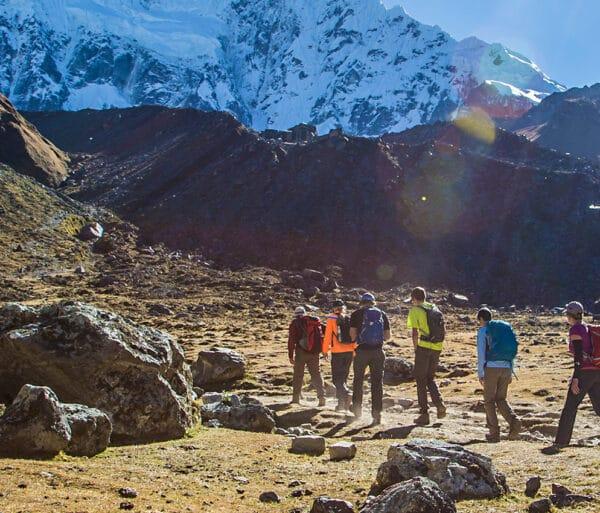 Hikers Trek in Peru