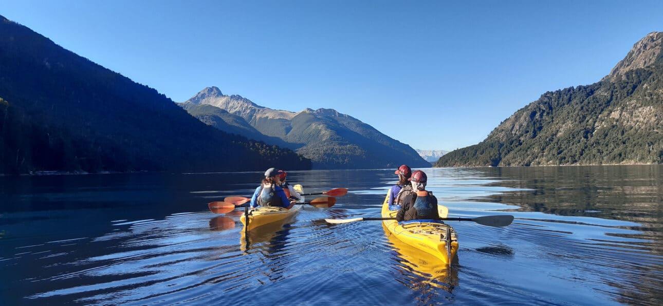 Kayaking in Argentina