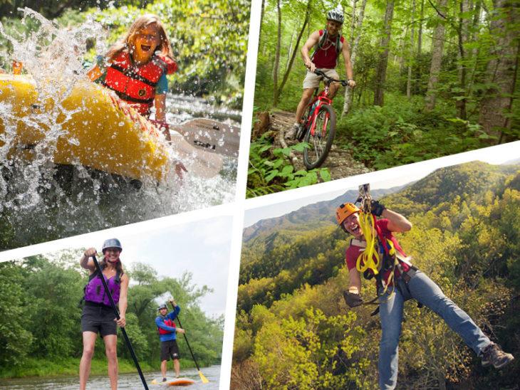 Nantahala River Adventures – Rafting, Mountain Biking, Lake Paddling and Zip Lining!