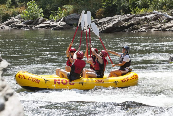 NOC Ocoee Trips – Non-stop Excitement on America's Olympic River!