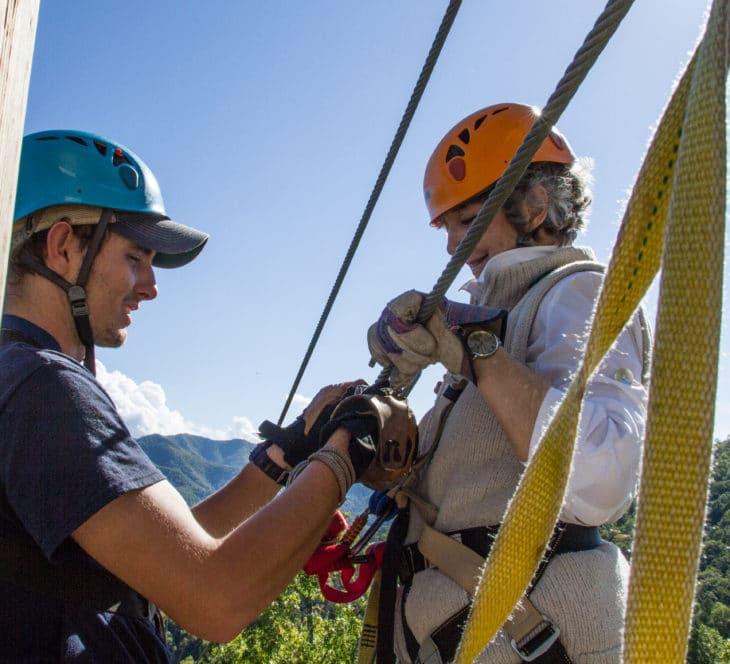 NOC's Mountaintop Zip Line Tour