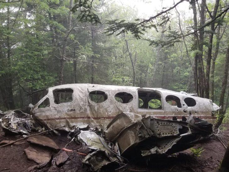 Plane Crash near Waterrock Knob